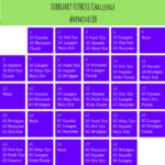 February Fitness Challenge