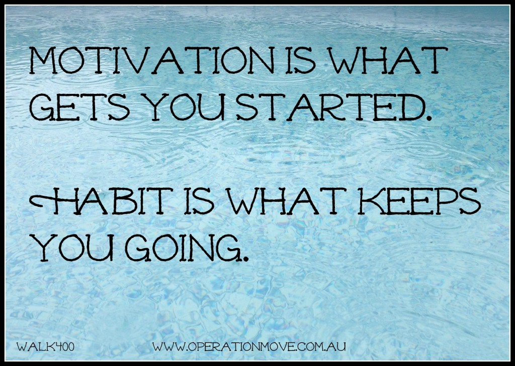 motivation habit quote