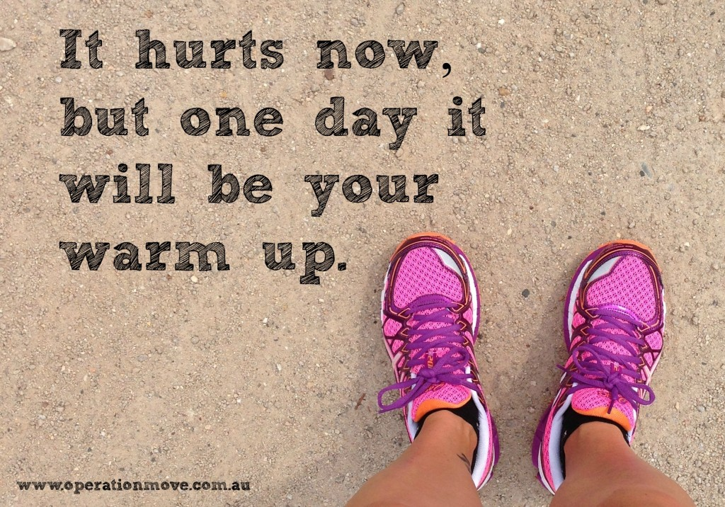 hurts now motivational quote inspiration